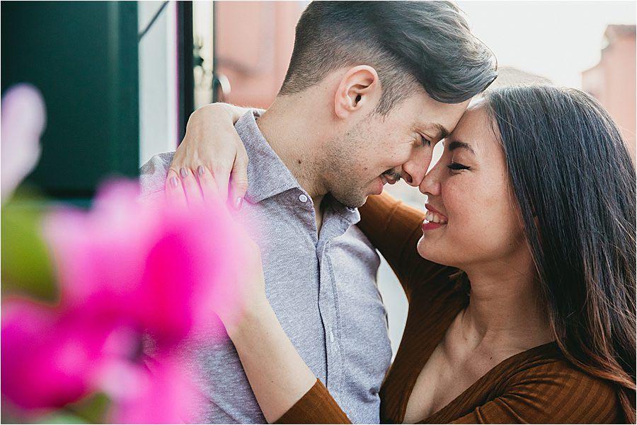 Servizio fotografico pre-matrimoniale a Burano