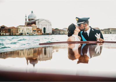 Ilenia & Savino – matrimonio elegante in divisa a Venezia, Ca' Vendramin Calergi Casinò di Venezia